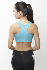 Gin Teal Sports Bra