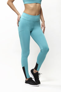 Grace Teal Leggings