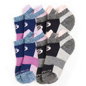 Youth Ankle Socks 4-Pack (Girls)
