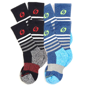 Youth Calf Socks 4-Pack (Boys)