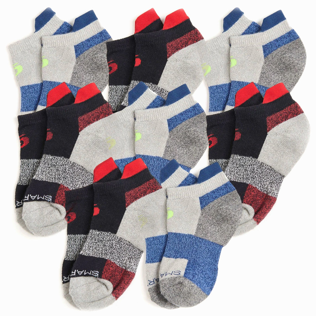 Youth Ankle Socks 8-Pack (Boys)