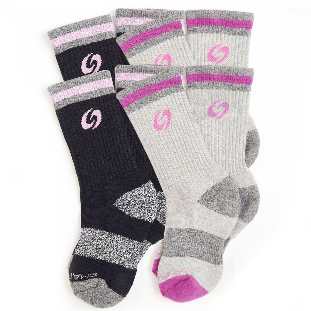 Youth Calf Socks 4-Pack (Girls)