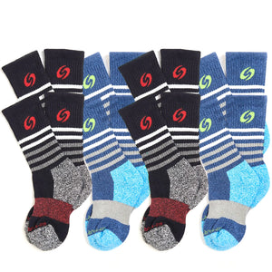 Youth Calf Socks 8-Pack (Boys)