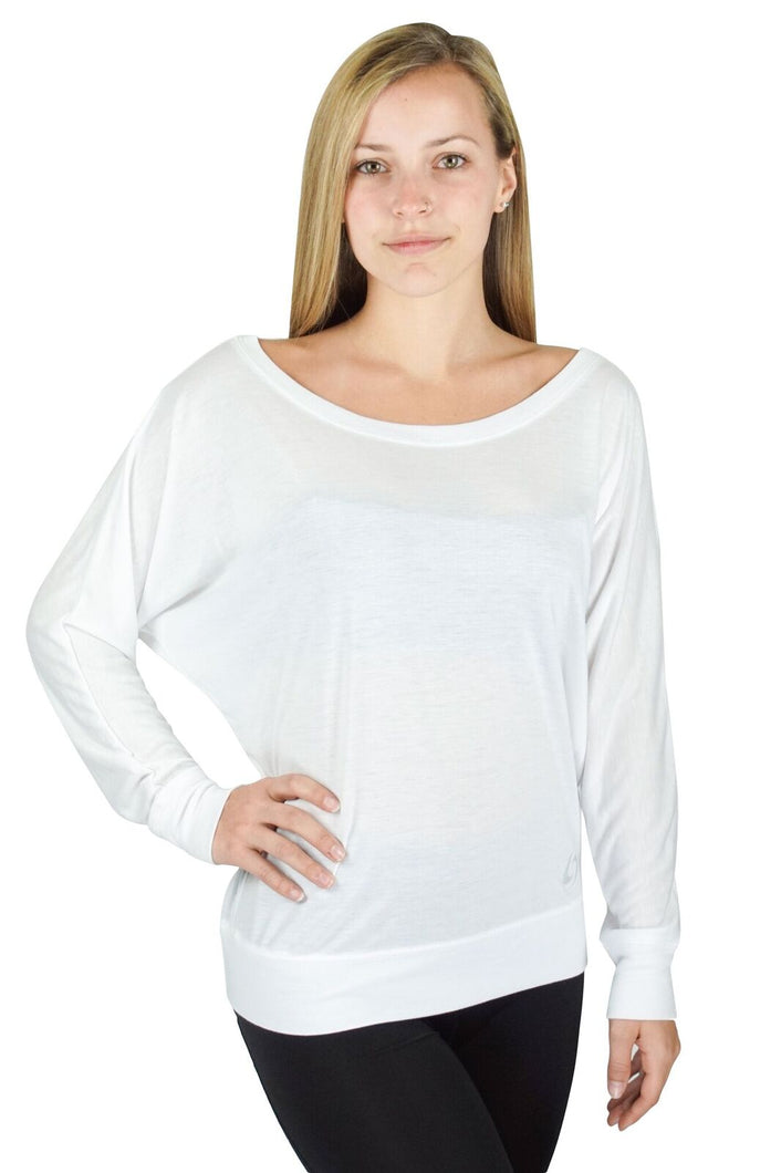 White Scoop Neck Shirt