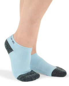 Blue Youth Ankle Sock