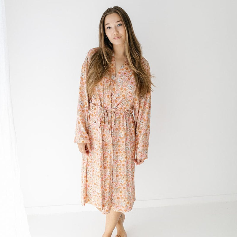 Wildflower Bamboo Robe