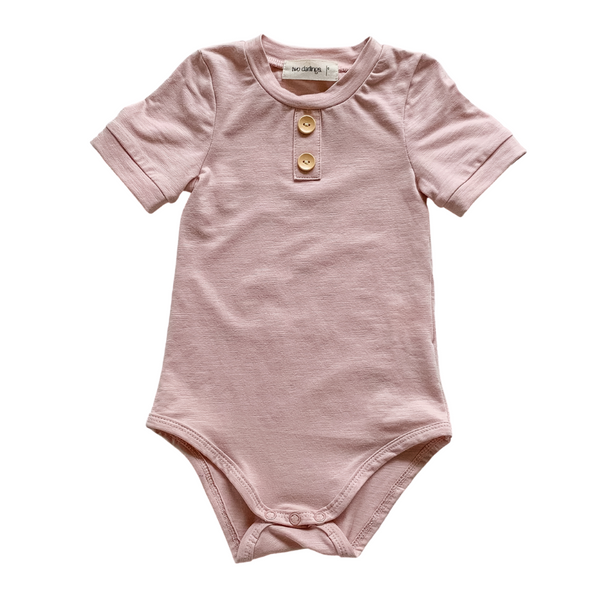 Blush Bamboo Basics Bodysuit