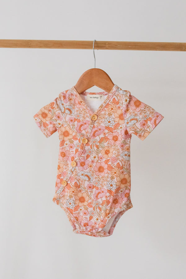 Wildflower Short Sleeve Bodysuit - PRE SALE