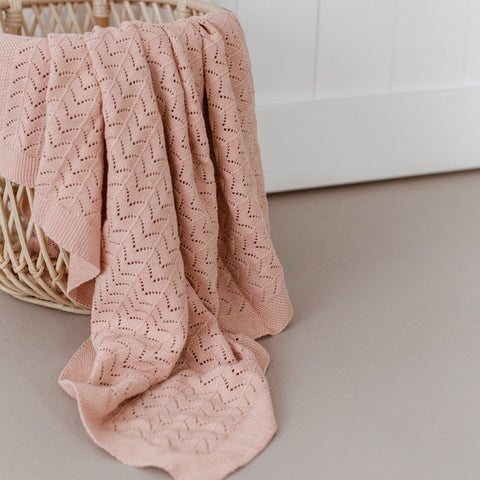Blush Heirloom Blanket