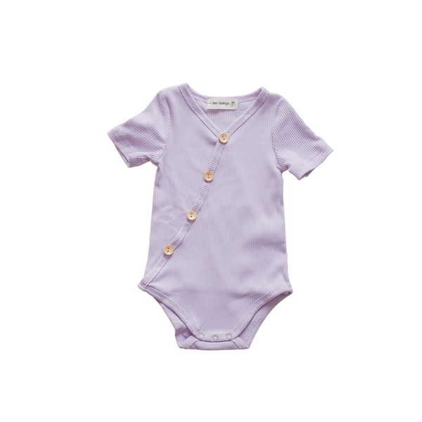 Lilac Short Sleeve Bodysuit - PRE SALE