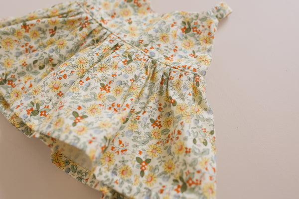 Honey Floral Peplum Top