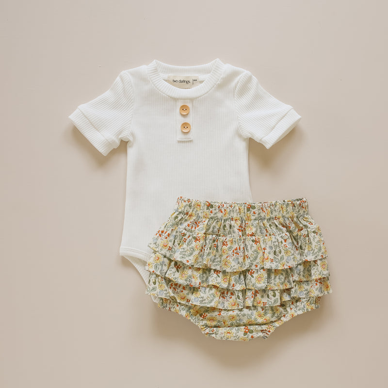 Honey Floral Ruffle Bum Bloomers