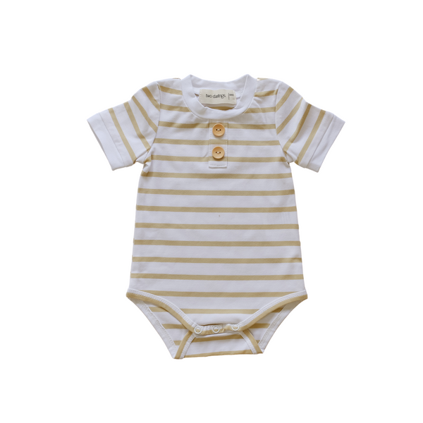 Golden Stripe Basic Bodysuit