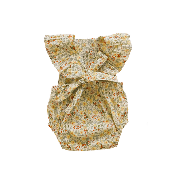 Honey Floral Vintage Romper