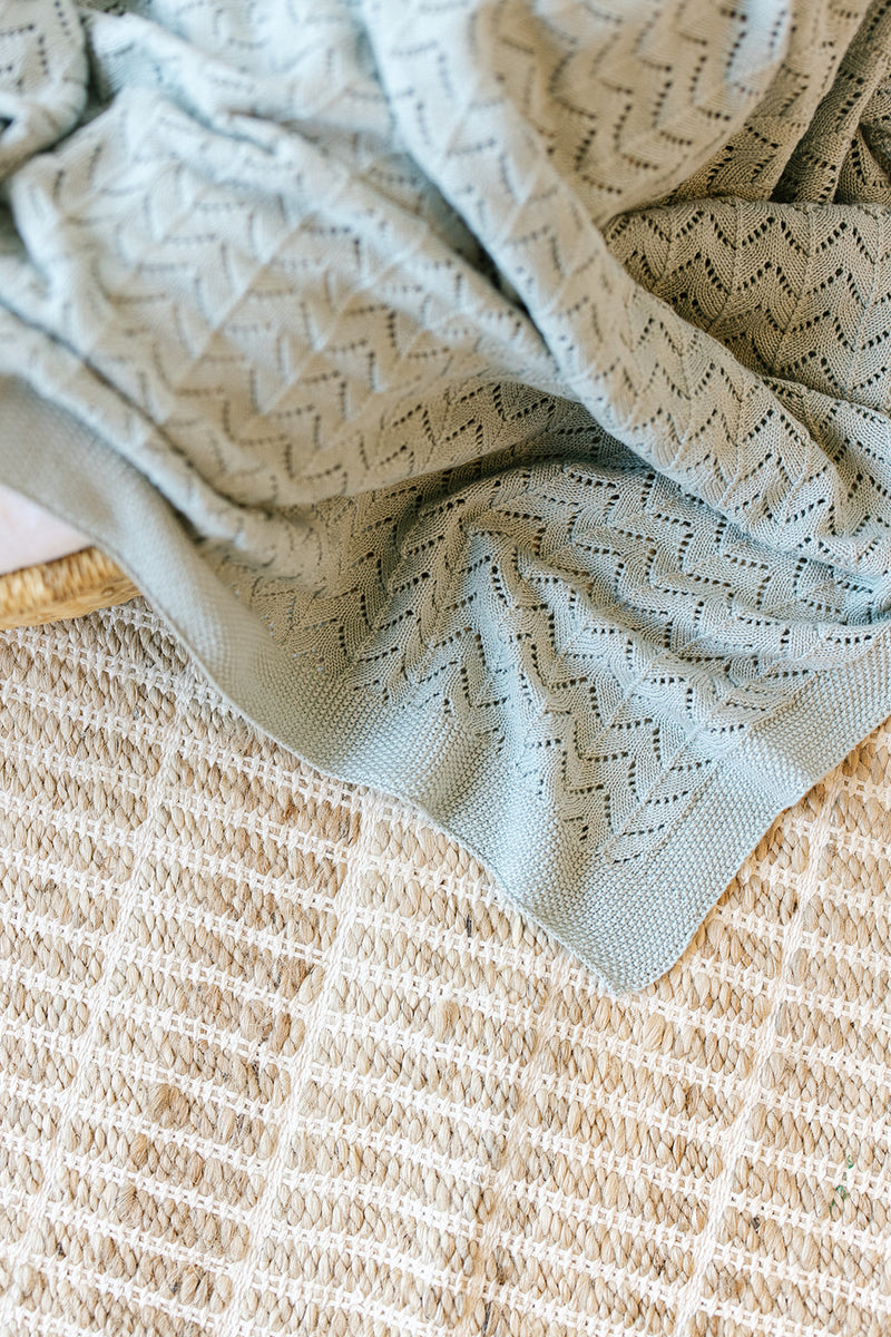 Surf Heirloom Knit Blanket