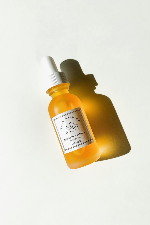 Rosehip + Citrus Facial Oil