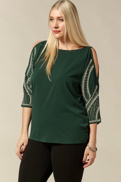 Plus Size Formal Top