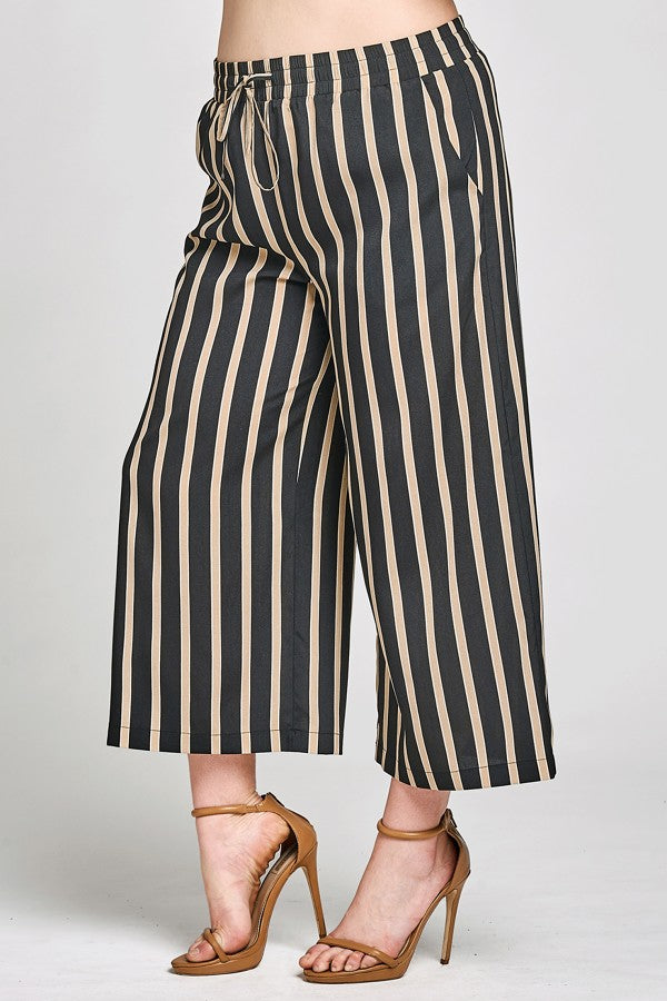 Plus Size Culotte Trouser