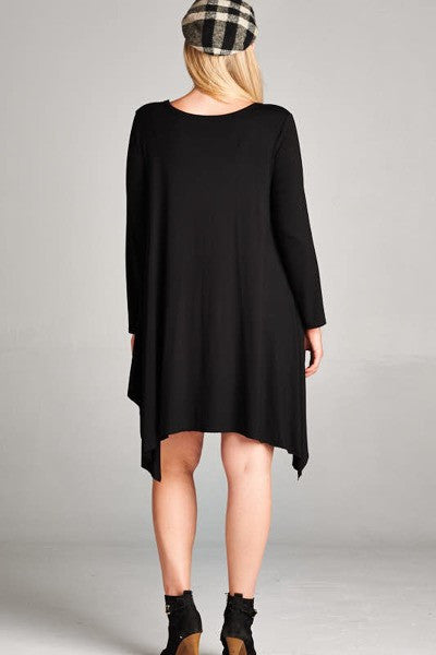 Plus Size Jersey Knit Dress