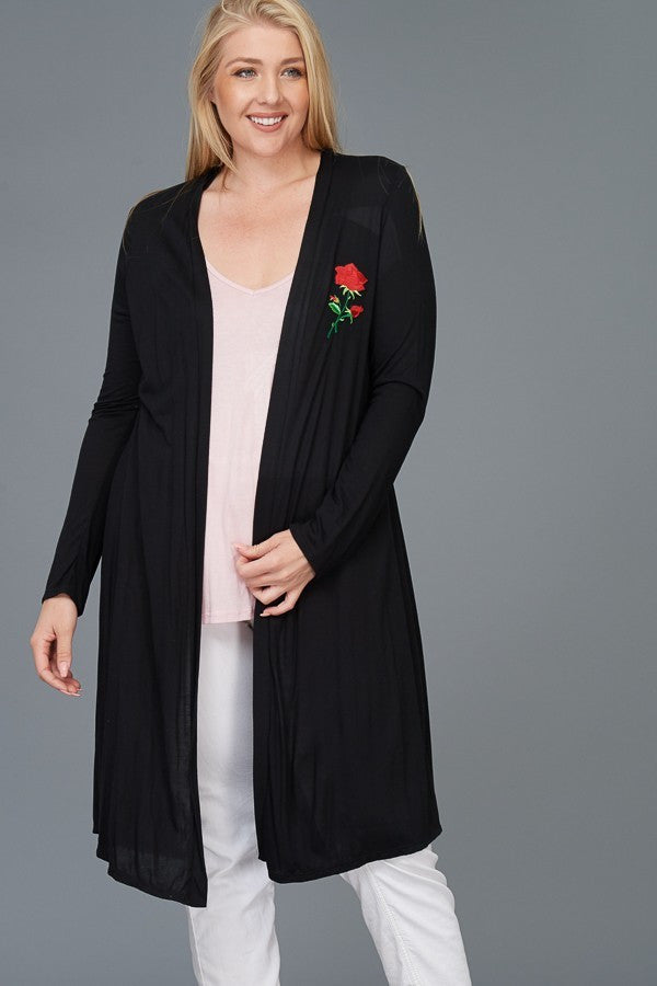 Plus Size Lounge Duster
