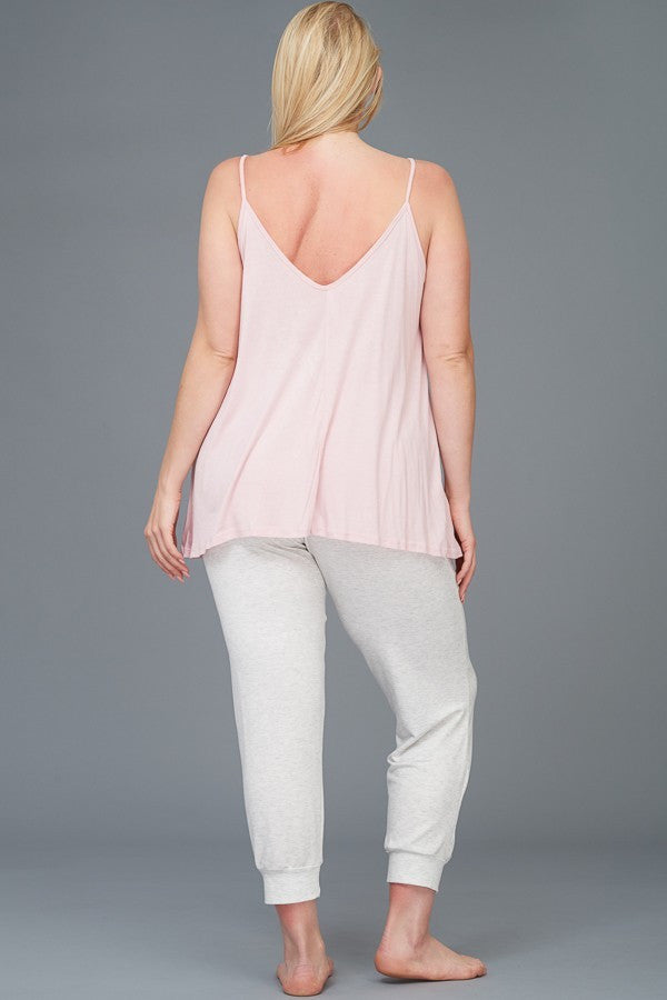 Plus Size Lounge Top