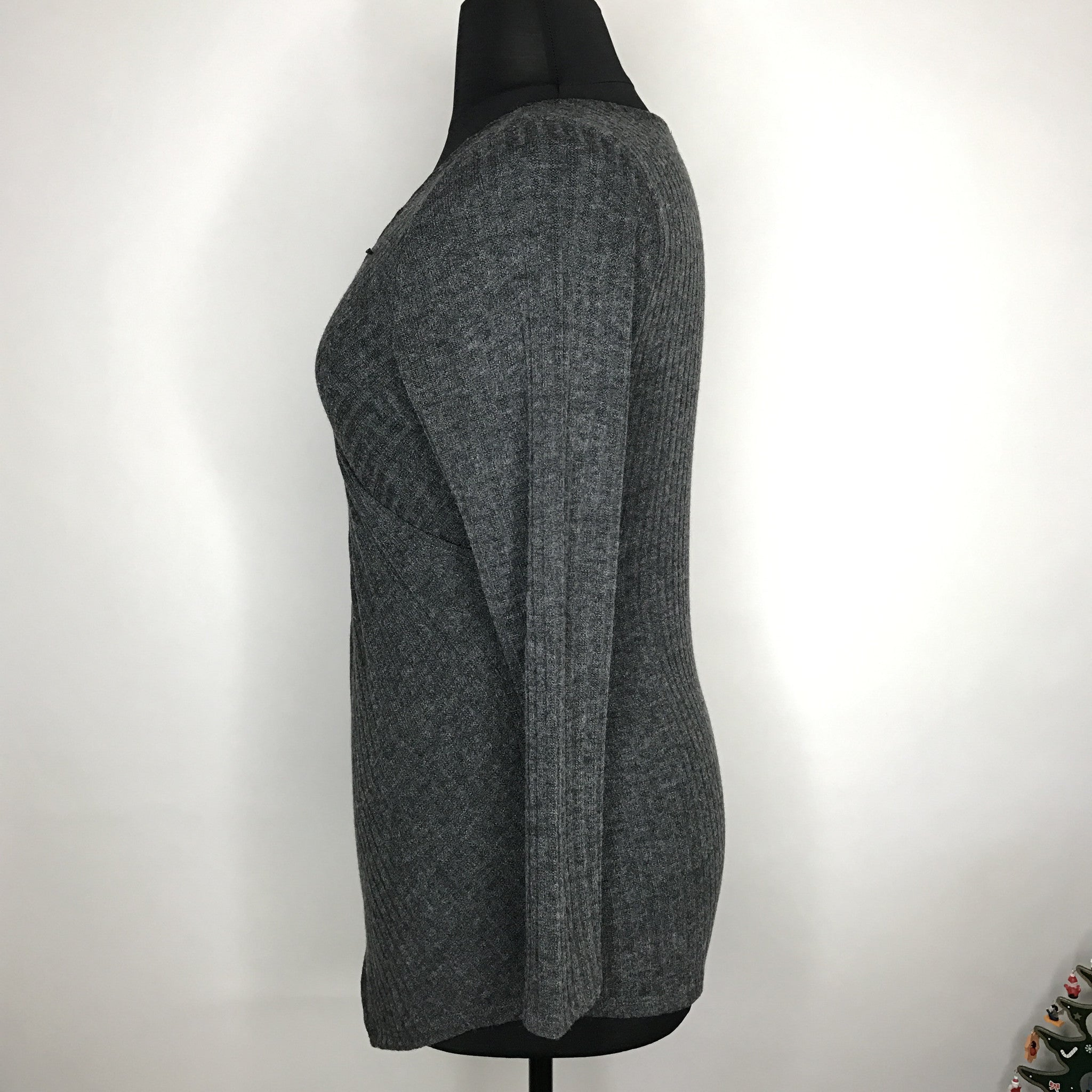 sweater in front aqua cashmere cardigan black drapes gallery normal clothing product drape lyst