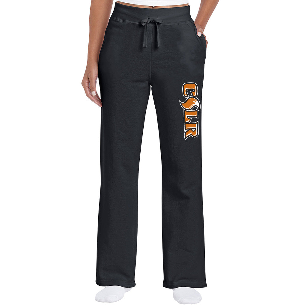 CSLR Ladies Semi-Fitted Open Bottom Sweatpants