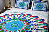 Universe Red Mandala Throw Set