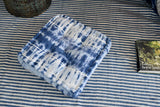 Indigo Tie and Dye Floor Cushion