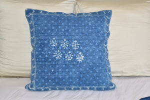 Block Print Heavy Cotton Dari Cushion Cover 60x60cm- IB60-5