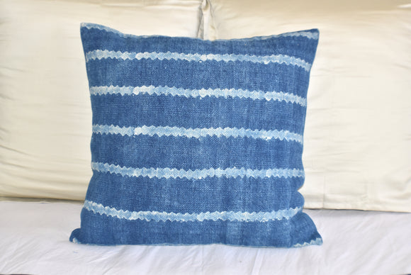 Block Print Heavy Cotton Dari Cushion Cover 60x60cm- IB60-8