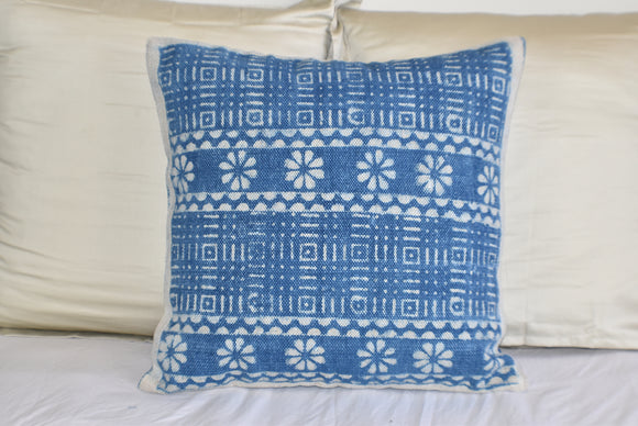 Block Print Heavy Cotton Dari Cushion Cover 60x60cm- IB60-9