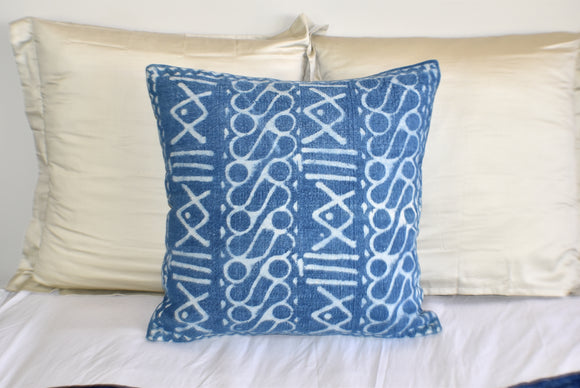 Block Print Heavy Cotton Dari Cushion Cover 65x65cm- IB65-11