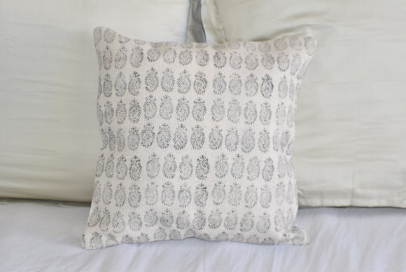 Booti Block Print Cotton Dari Cushion Cover 45cm