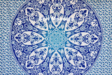 Brahma Blue Ombre  Mandala Throw