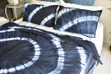 Ruby Hand Tie and Dyed Doona Cover Set