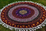 WOH Mandala Beach Round Throw