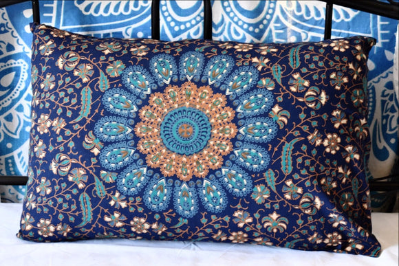 Harmony Peacock Mandala Pillow Set