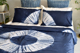 Mandala Hand Tie and Dyed Doona Cover Set