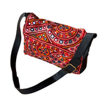 Indian Handmade Bohemian Vintage Tribal Banjara Hippy Shoulder Cross Bag-19