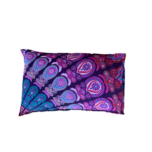 Harmony Purple Cotton Mandala Pillow Set 2Pcs