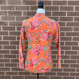 Copy of Indian Handmade Reversible Cotton Vintage Kantha Quilted Jacket LGE-3