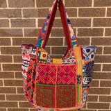 Large Indian Handmade Bohemian Vintage Banjara Hippy Shoulder Bag-8