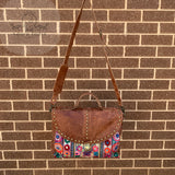 Indian Handmade Bohemian Vintage Tribal Banjara Hippy Shoulder Cross Body Notebook Bag-9