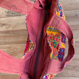 Large Indian Handmade Bohemian Vintage Banjara Hippy Shoulder Bag-11
