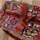 Indian Handmade Bohemian Vintage Tribal Banjara Hippy Shoulder Bag-21