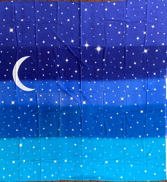 Moon and Star Cotton Large Bohemian Throw Home Decor Wall Art