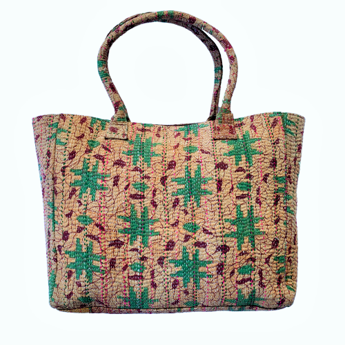 Indian Handmade Kantha Bohemian Vintage Tribal Banjara Hippy Shoulder Bag-2