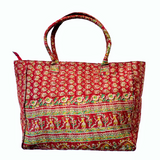 Handmade Silk Kantha Bohemian Vintage Tribal Banjara Hippy Shoulder Bag-13