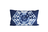 Hand Made Indigo Tie and Dye Galaxy Pillow Cover